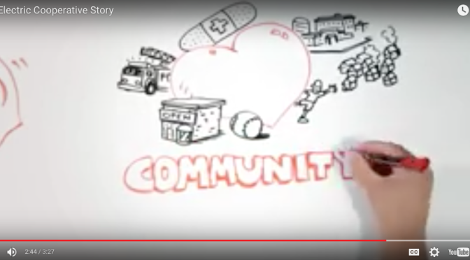 Whiteboard Animation: The Electric Cooperative Story